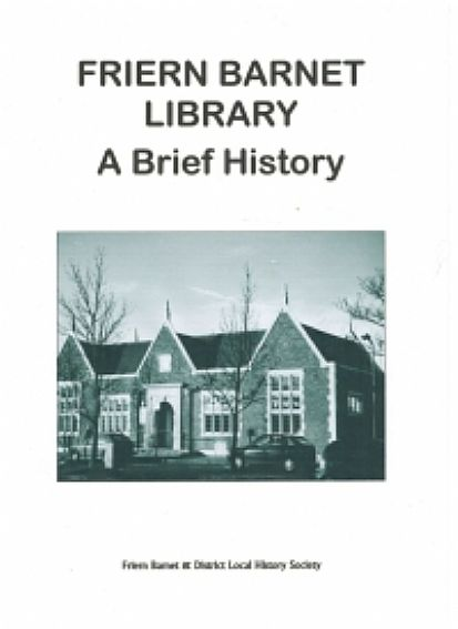 Friern Barnet Library Cover